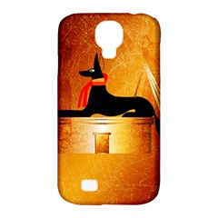 Anubis, Ancient Egyptian God Of The Dead Rituals  Samsung Galaxy S4 Classic Hardshell Case (PC+Silicone)
