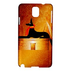 Anubis, Ancient Egyptian God Of The Dead Rituals  Samsung Galaxy Note 3 N9005 Hardshell Case
