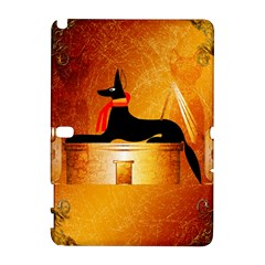 Anubis, Ancient Egyptian God Of The Dead Rituals  Samsung Galaxy Note 10.1 (P600) Hardshell Case