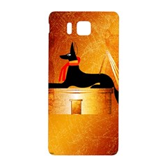 Anubis, Ancient Egyptian God Of The Dead Rituals  Samsung Galaxy Alpha Hardshell Back Case