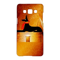 Anubis, Ancient Egyptian God Of The Dead Rituals  Samsung Galaxy A5 Hardshell Case