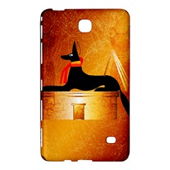 Anubis, Ancient Egyptian God Of The Dead Rituals  Samsung Galaxy Tab 4 (8 ) Hardshell Case