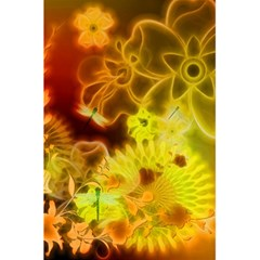 Glowing Colorful Flowers 5.5  x 8.5  Notebooks