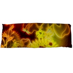 Glowing Colorful Flowers Body Pillow Cases (dakimakura)