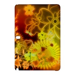 Glowing Colorful Flowers Samsung Galaxy Tab Pro 10 1 Hardshell Case