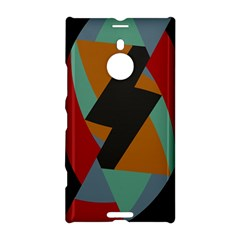 Fractal Design In Red, Soft Turquoise, Camel On Black Nokia Lumia 1520