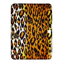 Brown Cheetah Abstract  Samsung Galaxy Tab 4 (10 1 ) Hardshell Case