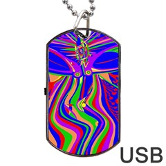 Transcendence Evolution Dog Tag USB Flash (Two Sides)
