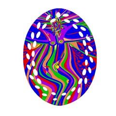 Transcendence Evolution Oval Filigree Ornament (2-Side)