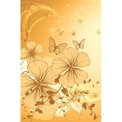 Wonderful Flowers With Butterflies 5.5  x 8.5  Notebooks