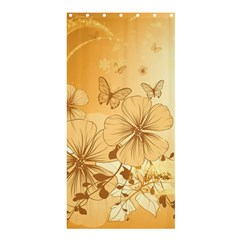 Wonderful Flowers With Butterflies Shower Curtain 36  X 72  (stall)