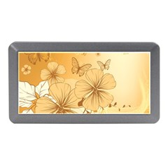 Wonderful Flowers With Butterflies Memory Card Reader (Mini)