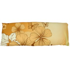 Wonderful Flowers With Butterflies Body Pillow Cases Dakimakura (Two Sides)