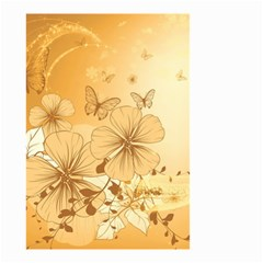 Wonderful Flowers With Butterflies Small Garden Flag (Two Sides)