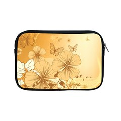 Wonderful Flowers With Butterflies Apple iPad Mini Zipper Cases