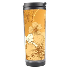 Wonderful Flowers With Butterflies Travel Tumblers