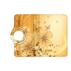 Wonderful Flowers With Butterflies Kindle Fire HD (2013) Flip 360 Case