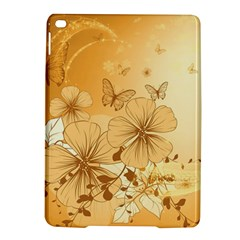 Wonderful Flowers With Butterflies iPad Air 2 Hardshell Cases
