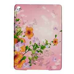 Beautiful Flowers On Soft Pink Background Ipad Air 2 Hardshell Cases