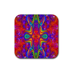 Abstract 1 Rubber Coaster (square)