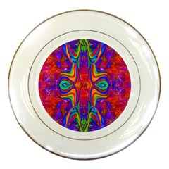 Abstract 1 Porcelain Plates