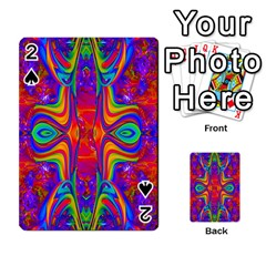Abstract 1 Playing Cards 54 Designs