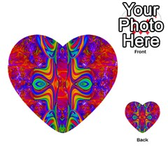 Abstract 1 Multi-purpose Cards (Heart)