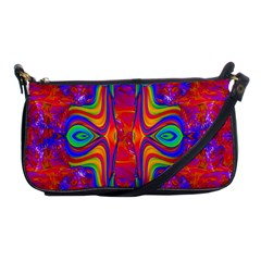 Abstract 1 Shoulder Clutch Bags