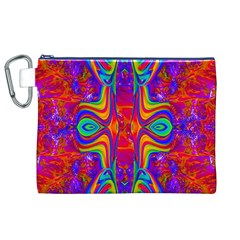 Abstract 1 Canvas Cosmetic Bag (XL)