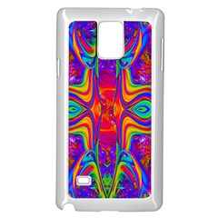 Abstract 1 Samsung Galaxy Note 4 Case (white)