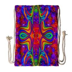 Abstract 1 Drawstring Bag (Large)