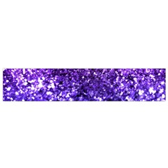 Midnight Glitter Flano Scarf (small)