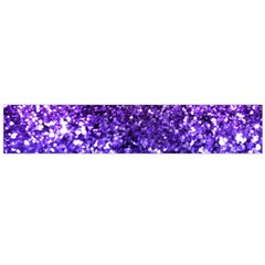 Midnight Glitter Flano Scarf (Large)