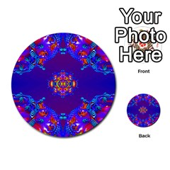 Abstract 2 Multi-purpose Cards (Round)