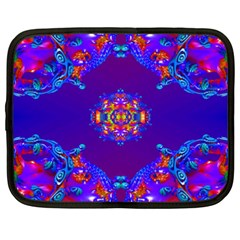 Abstract 2 Netbook Case (XXL)