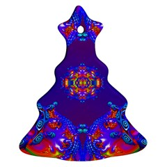 Abstract 2 Christmas Tree Ornament (2 Sides)