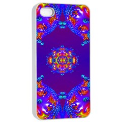 Abstract 2 Apple Iphone 4/4s Seamless Case (white)