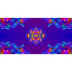 Abstract 2 You Are Invited 3d Greeting Card (8x4)