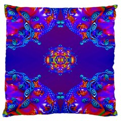 Abstract 2 Large Cushion Cases (Two Sides)