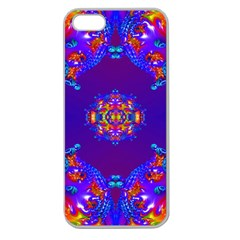 Abstract 2 Apple Seamless iPhone 5 Case (Clear)