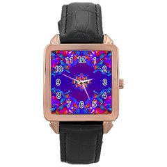 Abstract 2 Rose Gold Watches