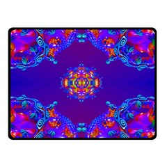 Abstract 2 Double Sided Fleece Blanket (Small)