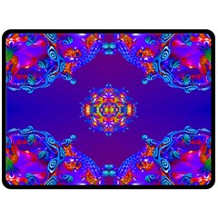 Abstract 2 Double Sided Fleece Blanket (Large)