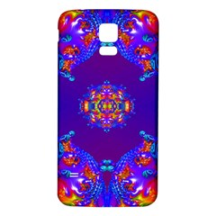 Abstract 2 Samsung Galaxy S5 Back Case (White)