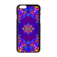 Abstract 2 Apple iPhone 6 Black Enamel Case