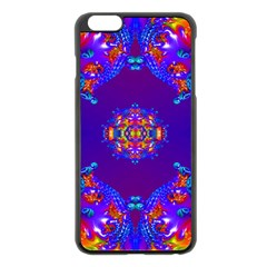 Abstract 2 Apple iPhone 6 Plus Black Enamel Case