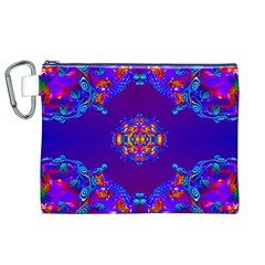 Abstract 2 Canvas Cosmetic Bag (XL)