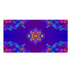 Abstract 2 Satin Shawl