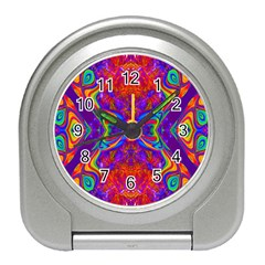Butterfly Abstract Travel Alarm Clock