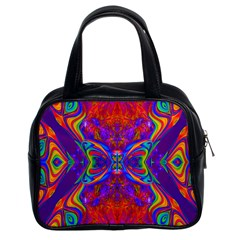 Butterfly Abstract Classic Handbag (Two Sides)
